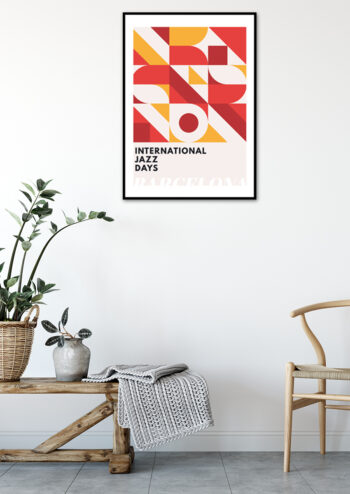 - Kubistika PosterJazz Barcelona - Kubistika Poster 2