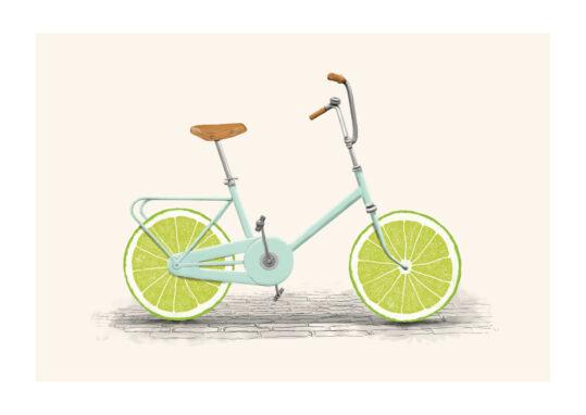 - Florent Bodart PosterAcid Bike - Florent Bodart Poster 1