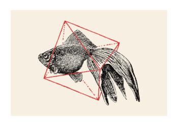 - Florent Bodart PosterFish In Geometrics I - Florent Bodart Poster 1