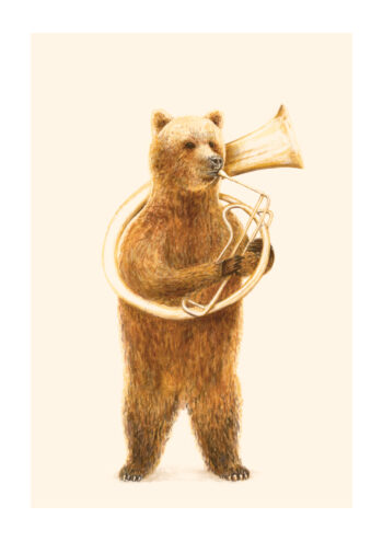 - Florent Bodart PosterThe Bear And His Helicon - Florent Bodart Poster 1