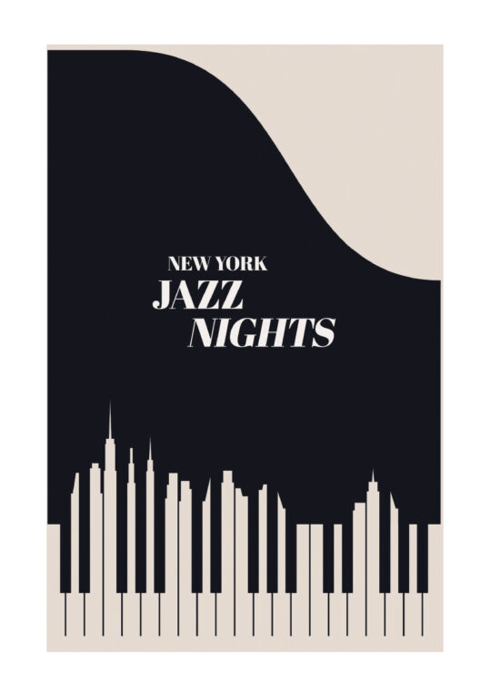 Poster Jazz NYC Poster 1