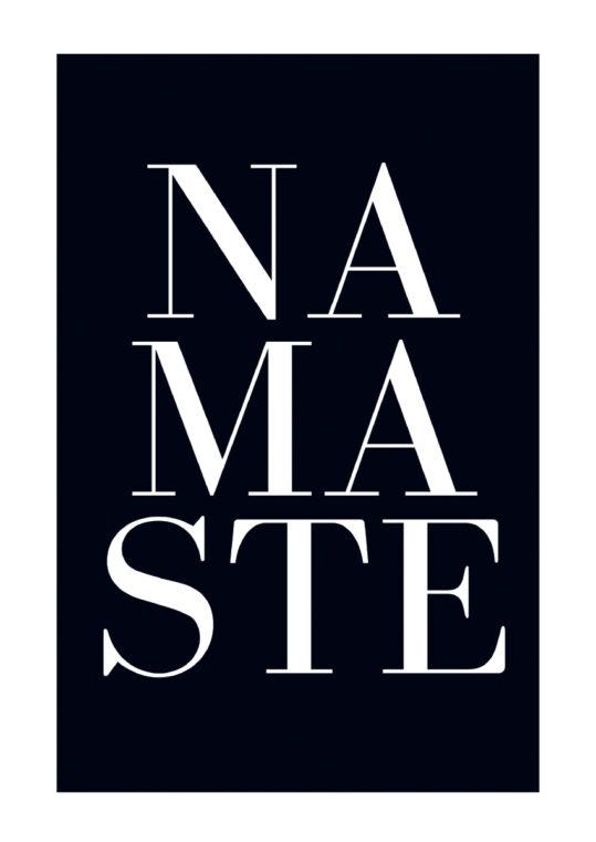 Poster Namaste Poster 1