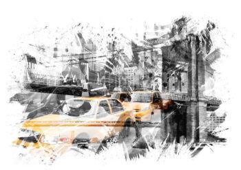 - Melanie Viola PosterNew York Illustration - Melanie Viola Poster 1