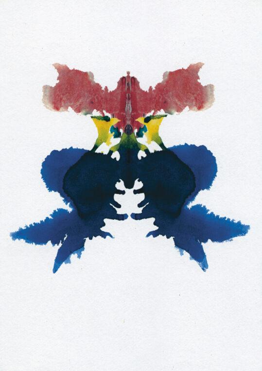 Poster Rorschach Inkblot 10 Poster 1