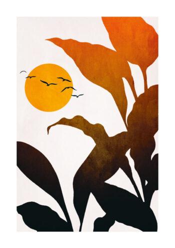 - Kubistika PosterTropical Sunrise - Kubistika Poster 1