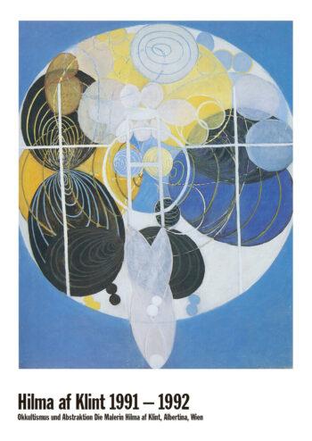 Poster Die großen Figurenbilder | Nr 5. Hilma af Klint Poster 1