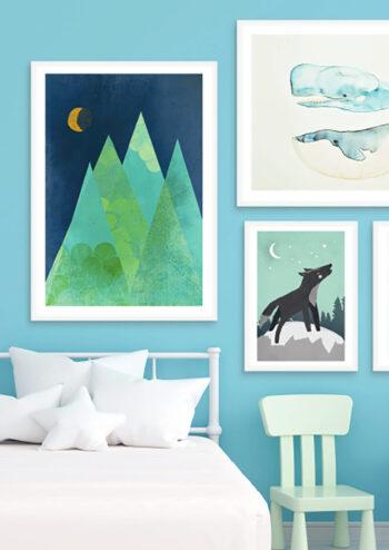 - treechild PosterNorway night - treechild Poster 2