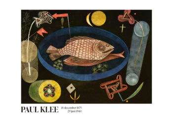 Poster Around The Fish Paul Klee Poster Poster 1