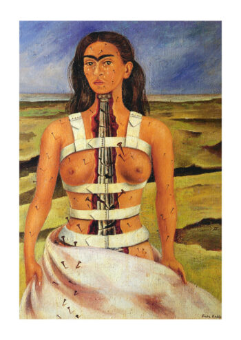 Poster Frida Kahlo The broken column Poster 1
