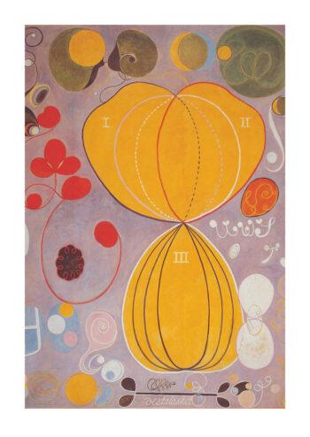 Poster Hilma af Klint | De 10 största: Nr7 Mannaaåldern Poster 1