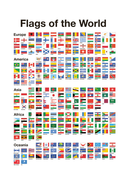 Poster Flags of the world Poster 1