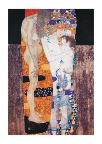 Poster Klimt Die drei Lebensalter einer Frau 1905 Poster 1