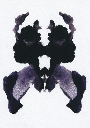 Poster Rorschach Ink blot 6 Poster 1