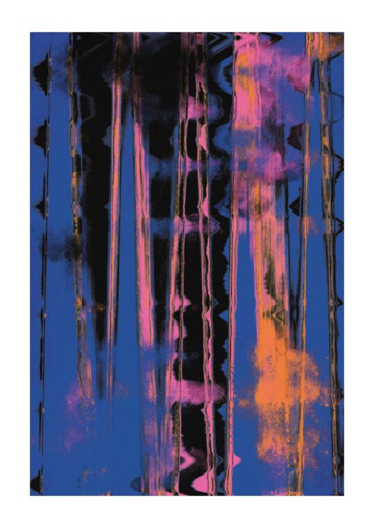 - treechild PosterTimemachine blue - treechild Poster 1